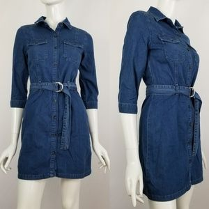 Miss Selfridge Denim Dress
